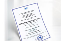 Certification of cleaning services